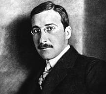Stefan Zweig um 1900. Quelle: http://de.wikipedia.org/wiki/Stefan_Zweig