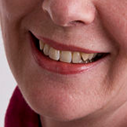 Anneli Phlippson's smile from Wikimedia Commons.